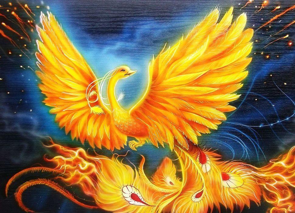 pájaro de fuego (mitología eslava)